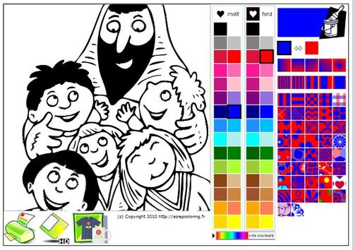 Coloriage de Photos et Dessins