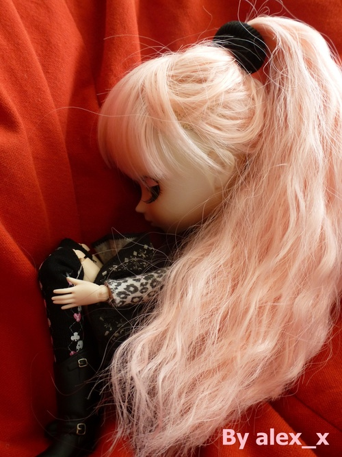 Bonbon rose gothique.