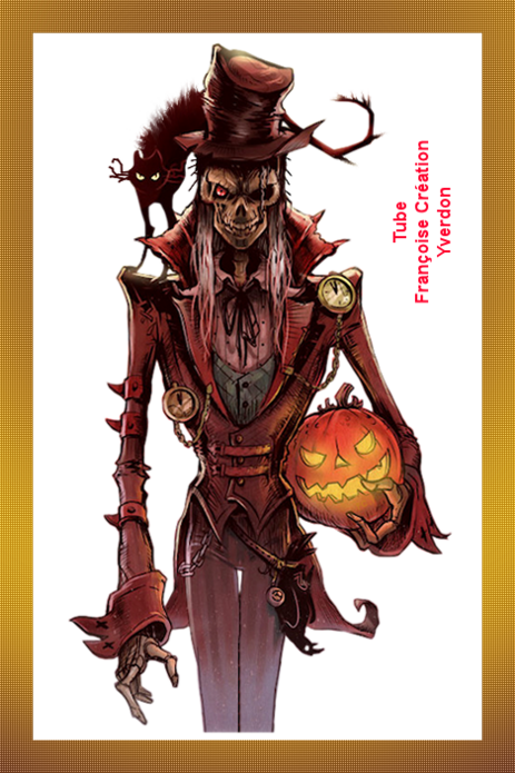 Personnages Halloween (01 à 12)