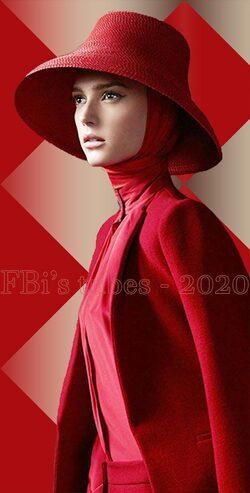 Tubes Femmes à chapeau 2