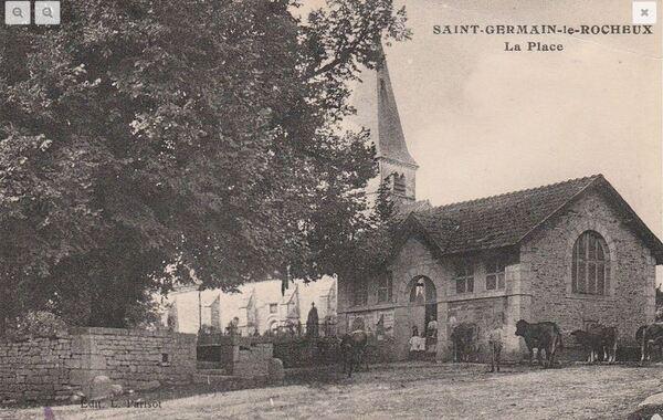 Souvenirs de Pierre Roy : les activités à Saint Germain le Rocheux