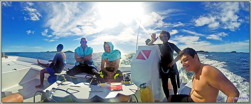 C'est parti pour une nouvelle matinée de plongées - Nosy Mitsio - Madagascar