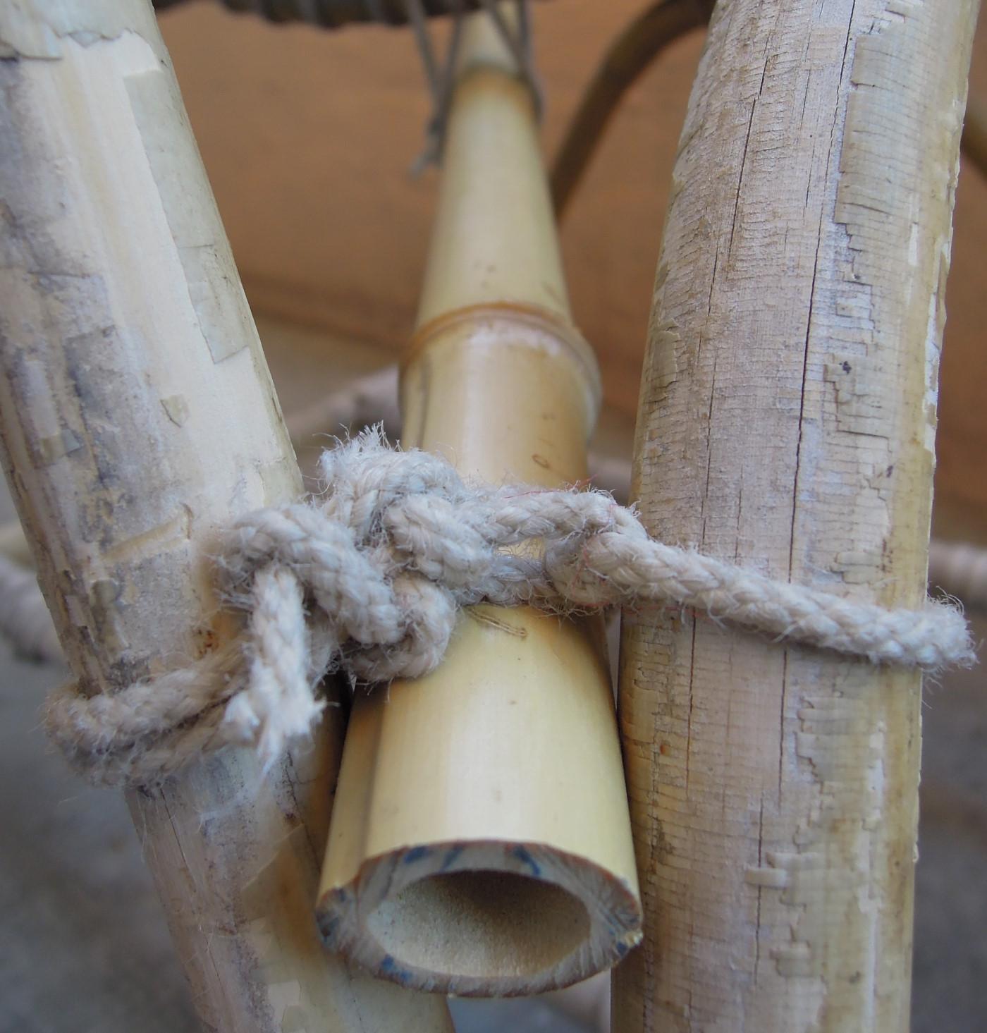 Fauteuil en rotin - bambou