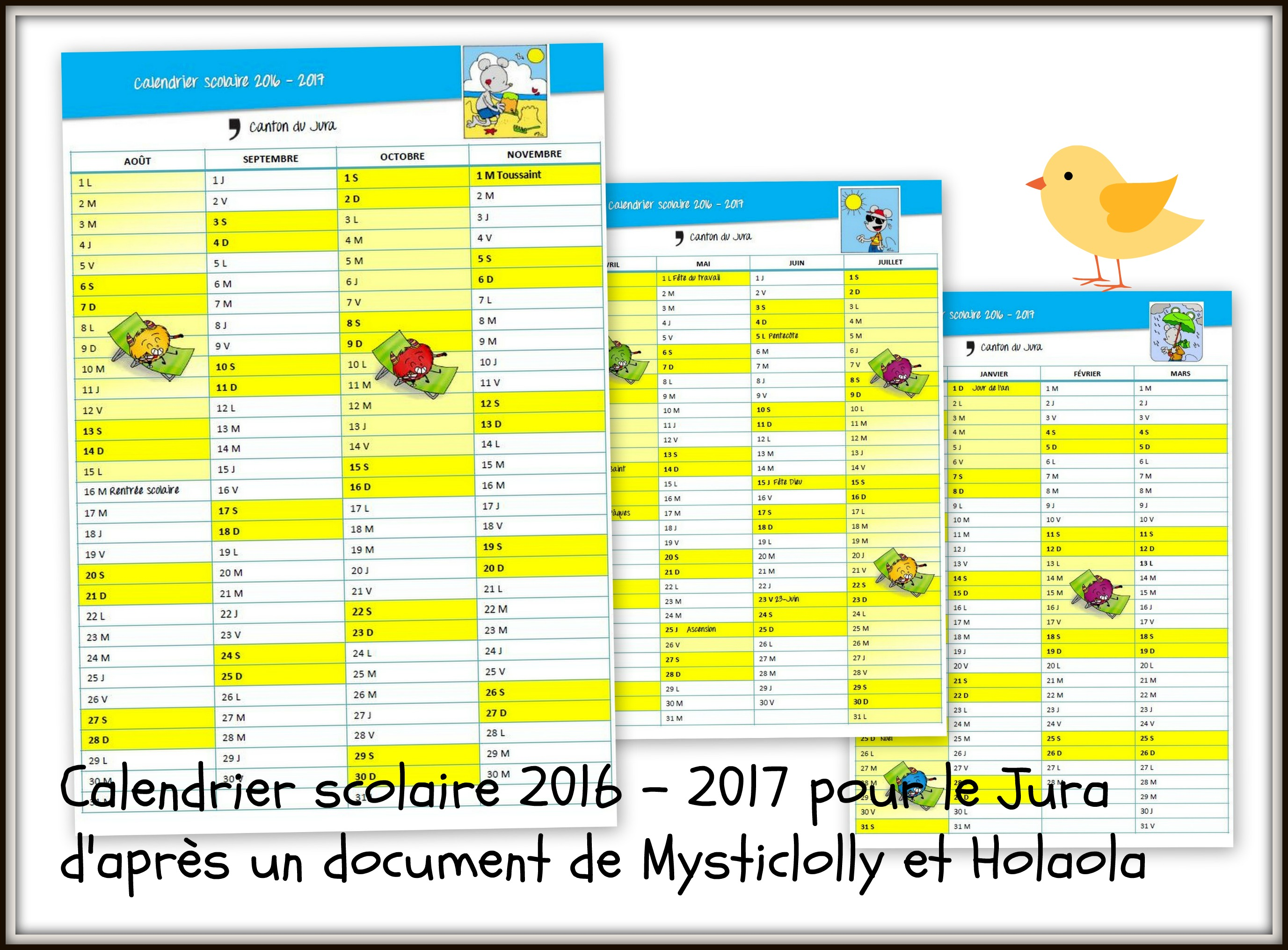calendrier vacances ecole fribourg