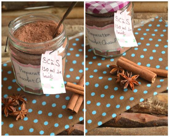 Le Vrai Chocolat Chaud { Préparation Jar + Ambiance Chalet Cocooning }