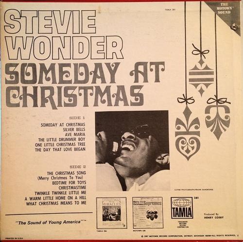 "Stevie Wonder : Album "" Someday At Christmas "" Tamla Records TS 281 [ US ]"
