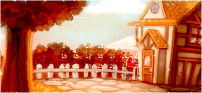 calendriers mois de septembre (acnl)