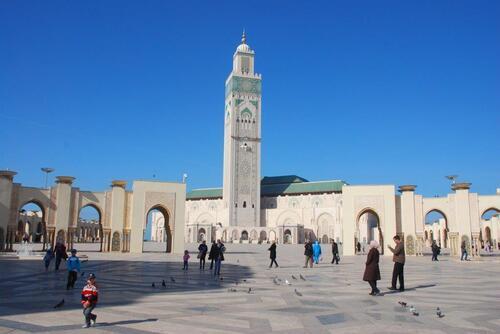 Le minaret 200m de haut