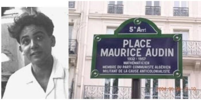 N'oublions pas Maurice Audin *** Cédric Villani s'exprime aussi...