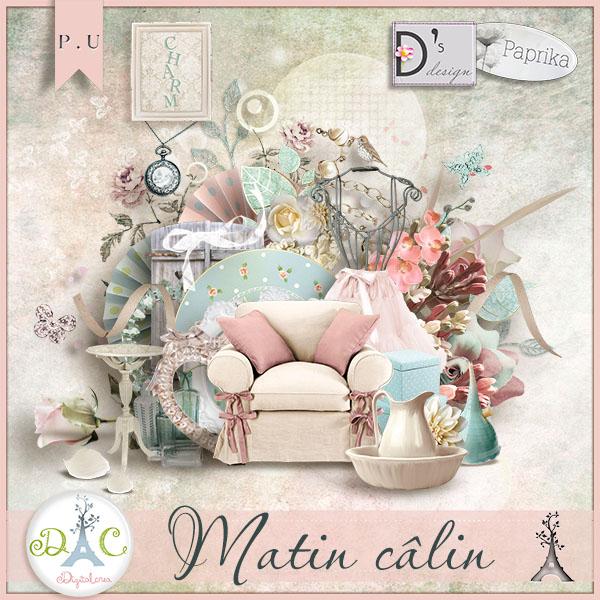 """Matin Calin"" de Paprika et Doudou's D"