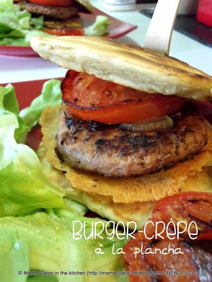 Burger-crêpes