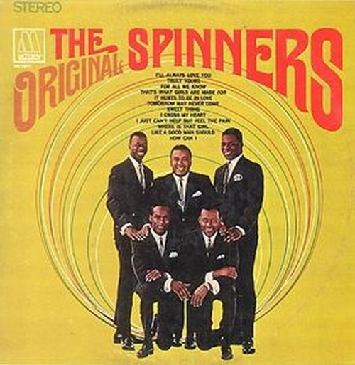 "The Spinners : Album "" The Original Spinners "" Motown Records MS 639 [ US ]"