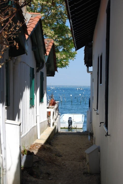 Bassin d'Arcachon, village de pêcheurs