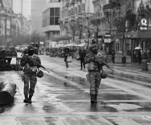 Bruxelles en 40-45 ? Non, le 21 novembre 2015