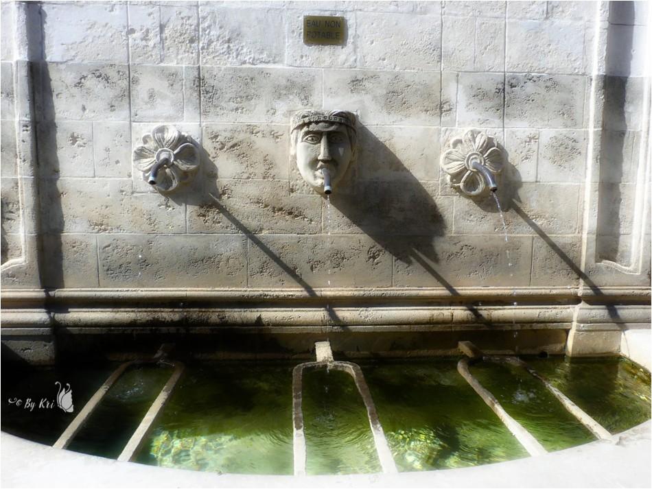 Vitrolles-en-Luberon (Fr-84) : Sa Fontaine et Son Lavoir ...