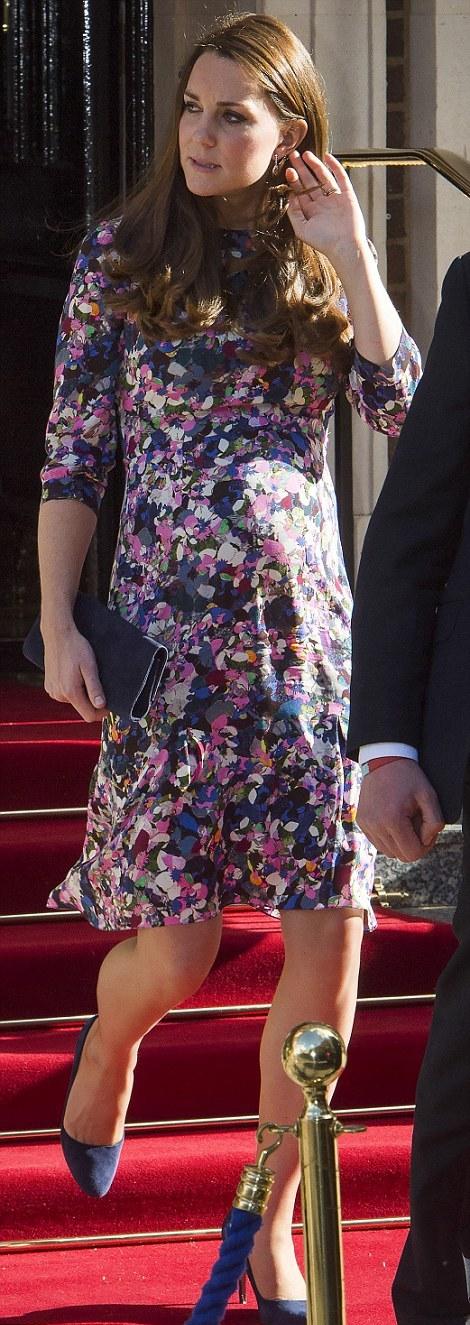 Kate en visite
