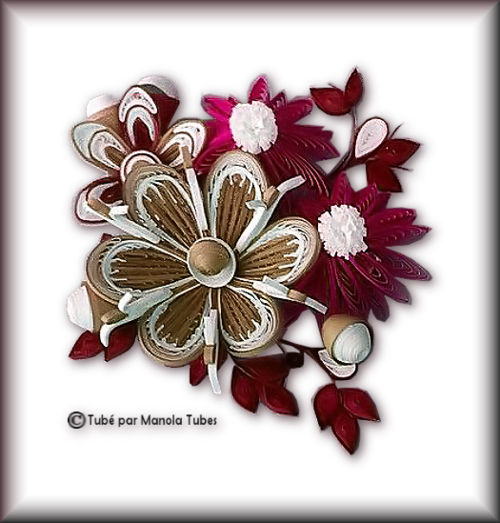 Tubes Quilling Arts floral 2995