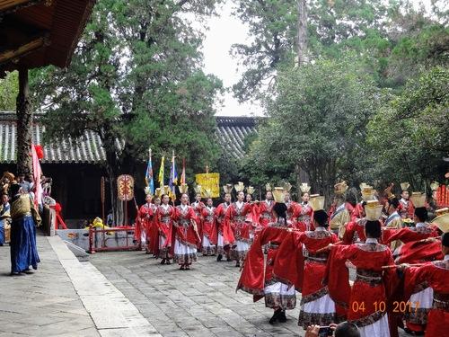 fête en l'honneur de Confucius-suite