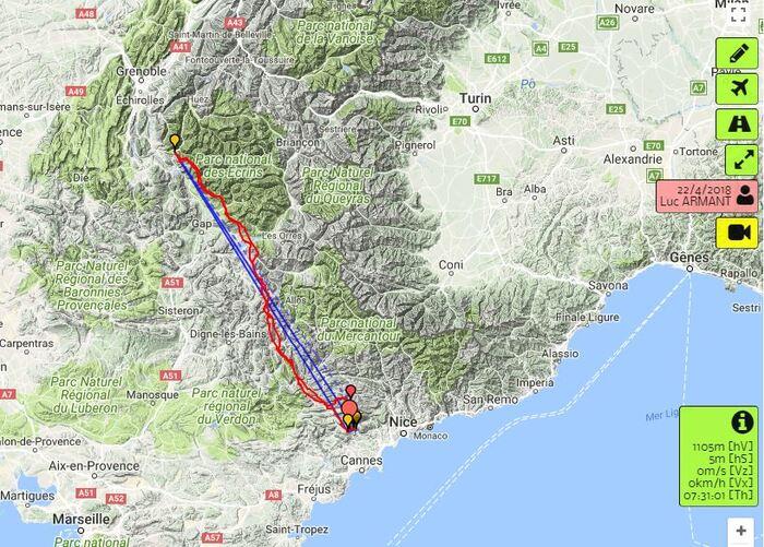 2018-04-22 300 km 10 h de vol Luc Armant