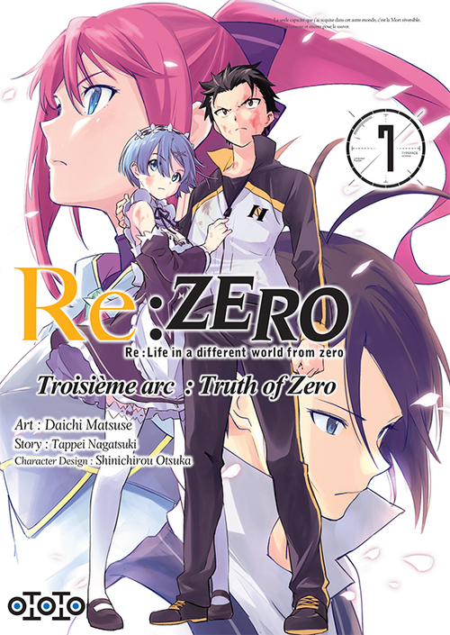 Re:zero - Troisième arc Truth of zero - Tome 07 - Daichi Matsuse & Tappei Nagatsuki