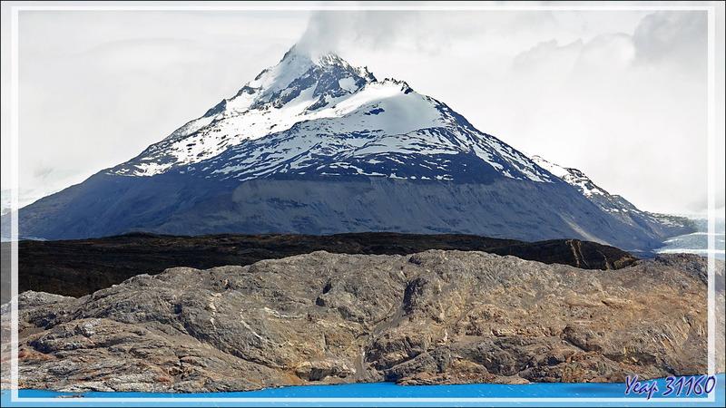 Dernier regard sur le paysage avant de redescendre vers les véhicules - Lago Guillermo - Estancia Cristina - Lago Argentino - Patagonie - Argentine