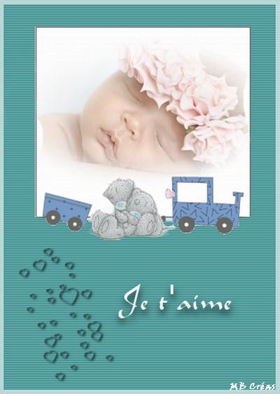 Cartes Baptême naissances Bébés