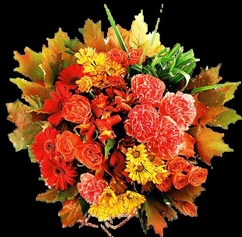 Fleurs ou fruilles   dans vase ( automne )1