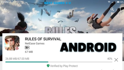 Rules of Survival Guides Walkthrough and Gameplay
