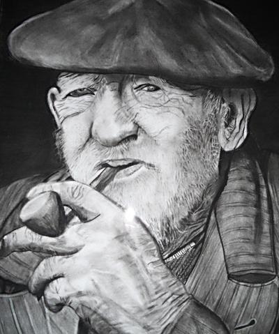 Portrait homme âgé