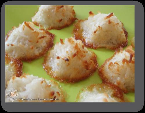 Rochers à la noix de coco et au gingembre