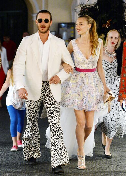 le dandy de Monaco ....  quelle classe ce pantalon ....