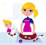Les mères qui travaillent s'occupent aussi de leurs enfants!