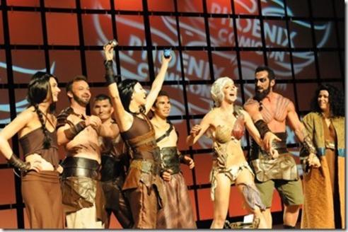 Cosplay Dothraki