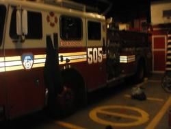 Galerie photos: Visite d'une caserne des pompiers de New-York