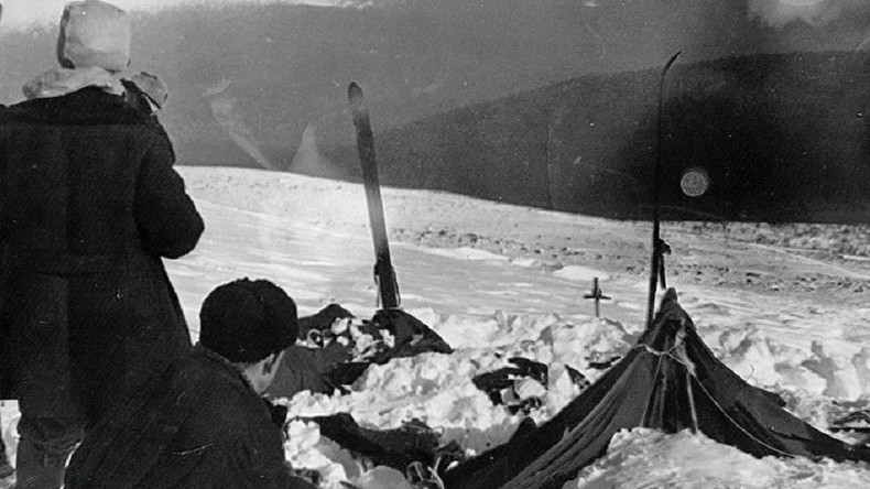 Photo d'archive de l'accident du col Dyatlov en 1959