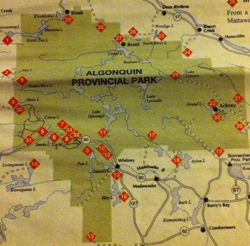 Parc Algonquin- partie 1: l'aventure humaine