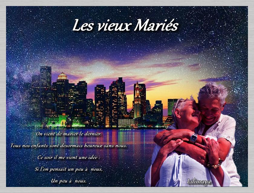 """Le cercle des defis """"Les Vieux Mariés Michel Sardou"""""""