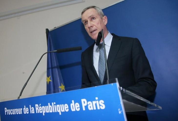 Le procureur de ParisFrançois Molins le 30 mars2016.« Aucune cible spécifique » n'aété identifiée pour l'attentat en préparation.