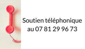 Le soutien téléphonique à l'allaitement au 07 81 29 96 73