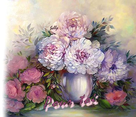 **Fleurs**Perspective animée