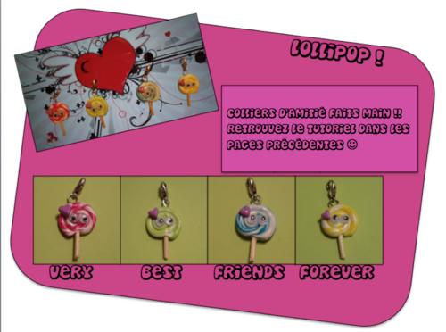 création 2013-11: colliers d'amitié