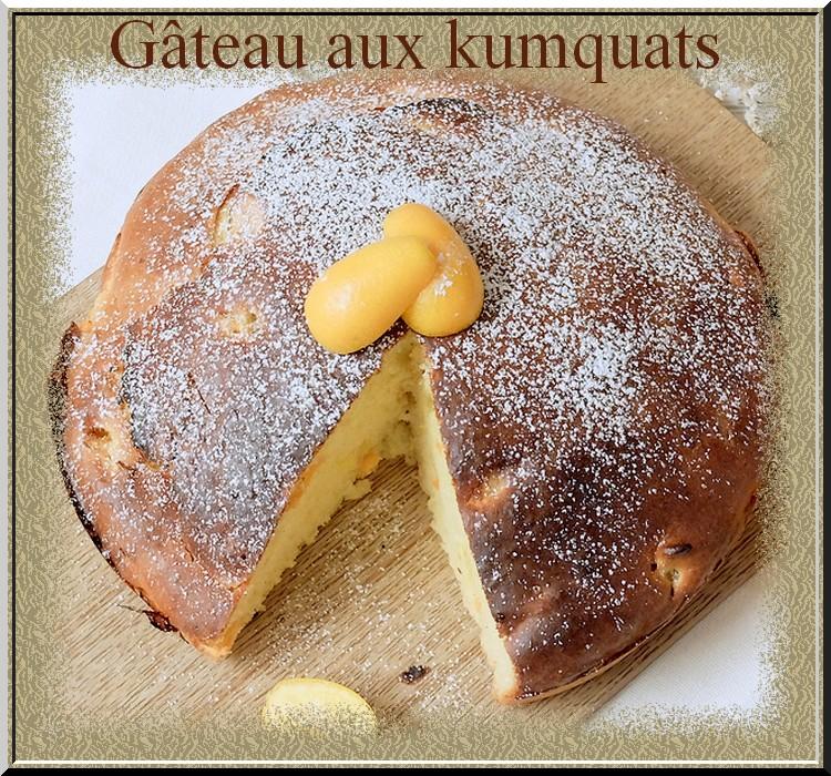 Gâteau aux kumquats