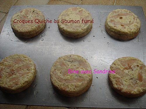 Croque quiche Saumon fumé 3