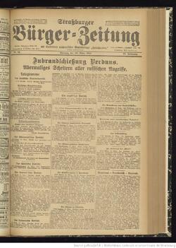 Strassburger Zeitung 26/03/2016