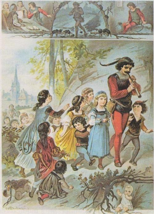 Le joueur de flûte de Hamelin (conte allemand)