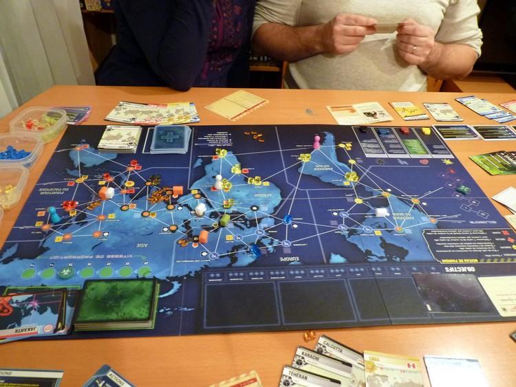 Pandémie Legacy (fin décembre 2)