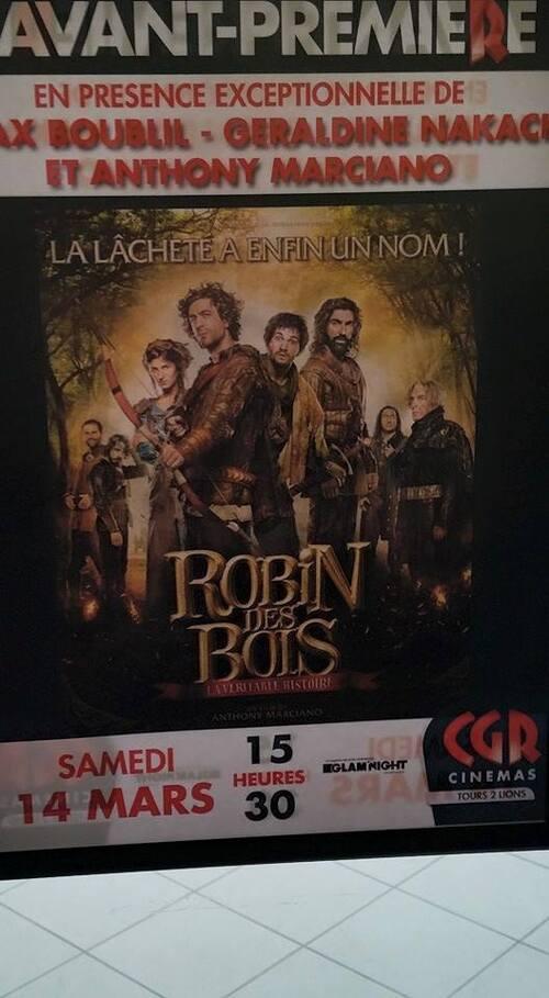 AVANT PREMIERE POUR LE FILM : ROBIN DES BOIS