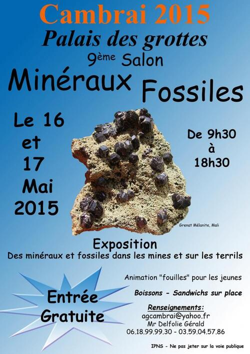 Bourse Minéraux et Fossiles...