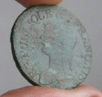 5-centimes-l-an-9 G avers