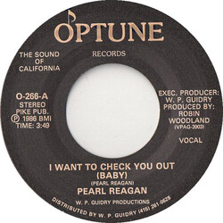 Pearl Reagan - I Want To Check You Out (Baby)